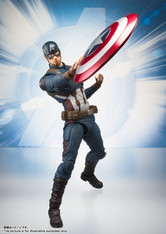 Bandai Tamashii Nations SH Figuarts Avengers Endgame Captain America promo 03