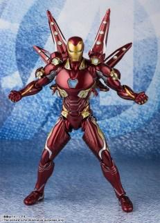 Bandai Tamashii Nations SH Figuarts Avengers Endgame Iron Man Mark 50 Nano Weapon Set 2 promo 01