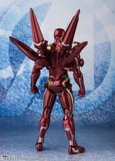 Bandai Tamashii Nations SH Figuarts Avengers Endgame Iron Man Mark 50 Nano Weapon Set 2 promo 03