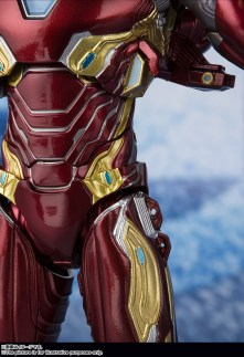 Bandai Tamashii Nations SH Figuarts Avengers Endgame Iron Man Mark 50 Nano Weapon Set 2 promo 04