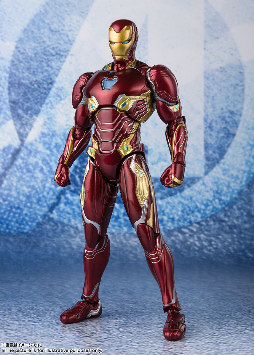 Bandai Tamashii Nations SH Figuarts Avengers Endgame Iron Man Mark 50 Nano Weapon Set 2 promo 06