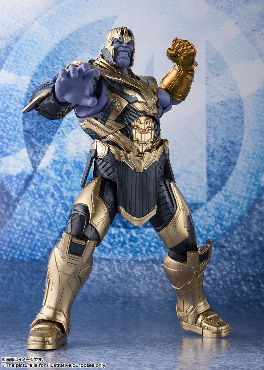Bandai Tamashii Nations SH Figuarts Avengers Endgame Thanos promo 01