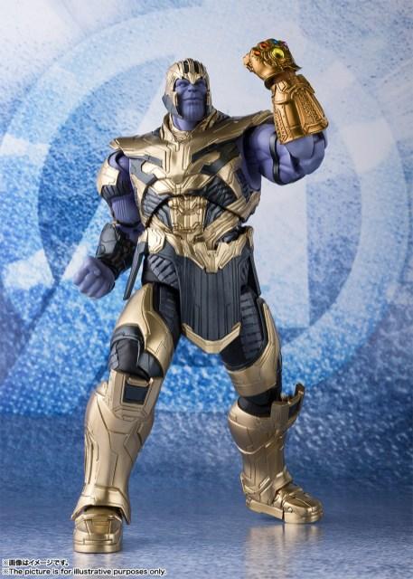 Bandai Tamashii Nations SH Figuarts Avengers Endgame Thanos promo 05