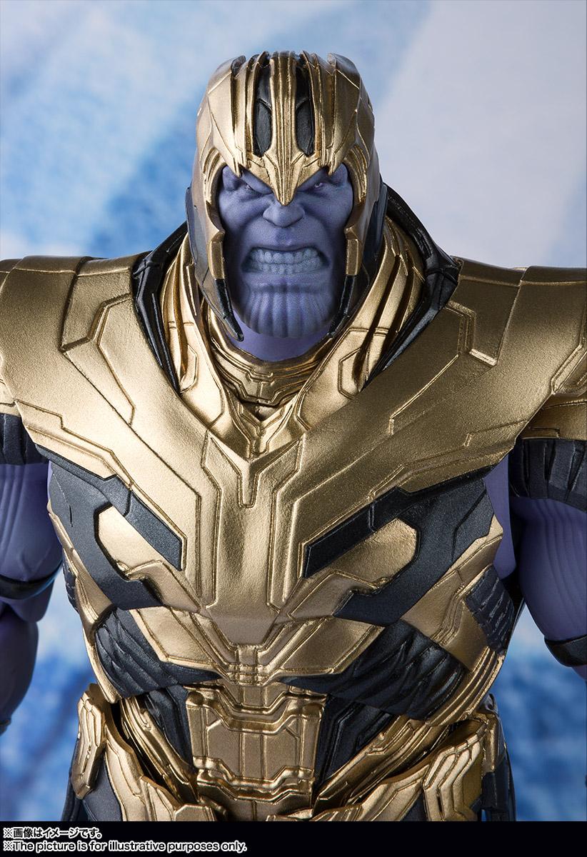Bandai Tamashii Nations SH Figuarts Avengers Endgame Thanos promo 07