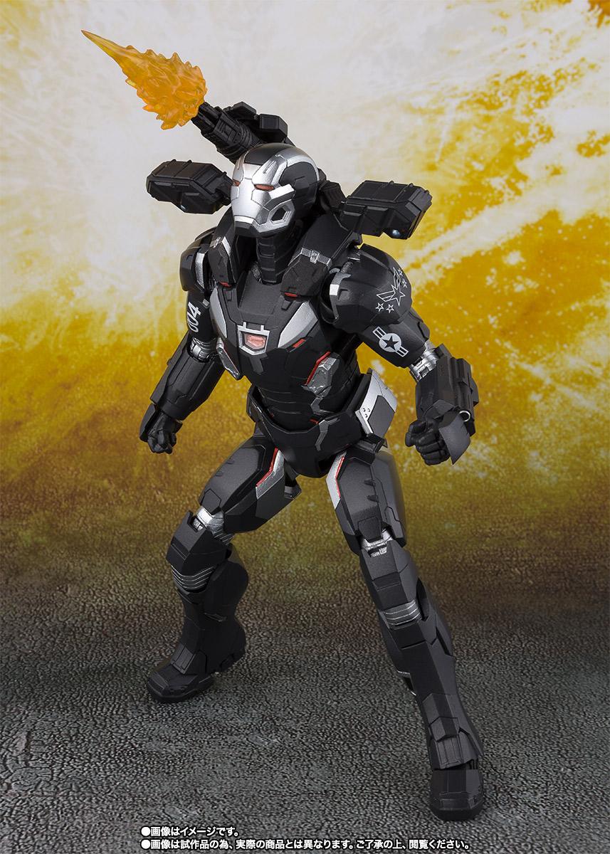 Bandai Tamashii Nations SH Figuarts Avengers Endgame War Machine Mark 4 promo 03