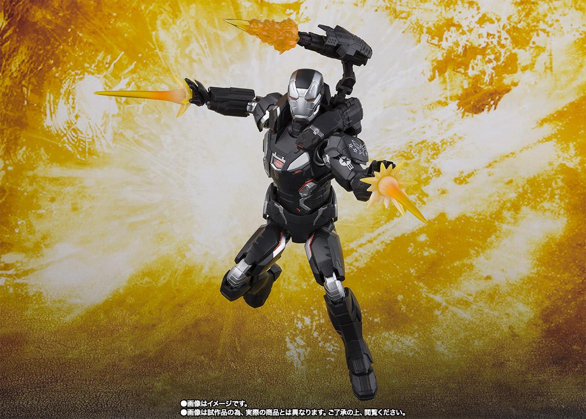 Bandai Tamashii Nations SH Figuarts Avengers Endgame War Machine Mark 4 promo 04