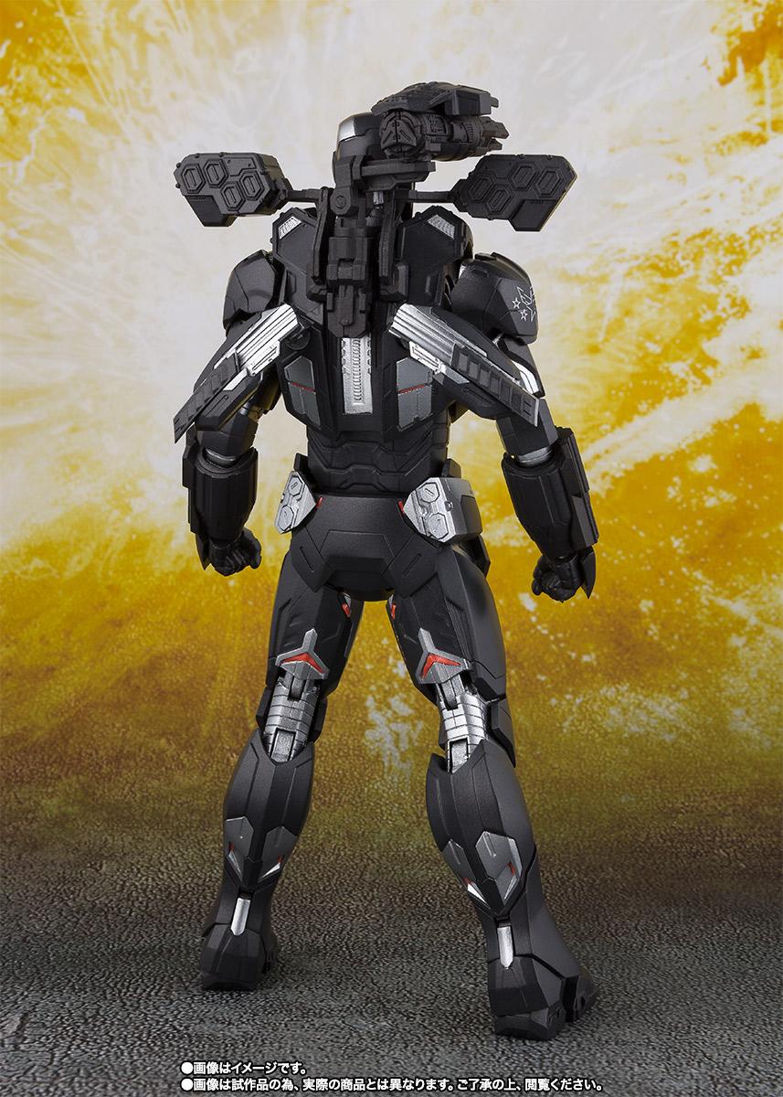 Bandai Tamashii Nations SH Figuarts Avengers Endgame War Machine Mark 4 promo 07