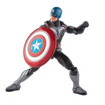 Hasbro Marvel Legends Avengers Endgame Armored Thanos BaF Captain America 01