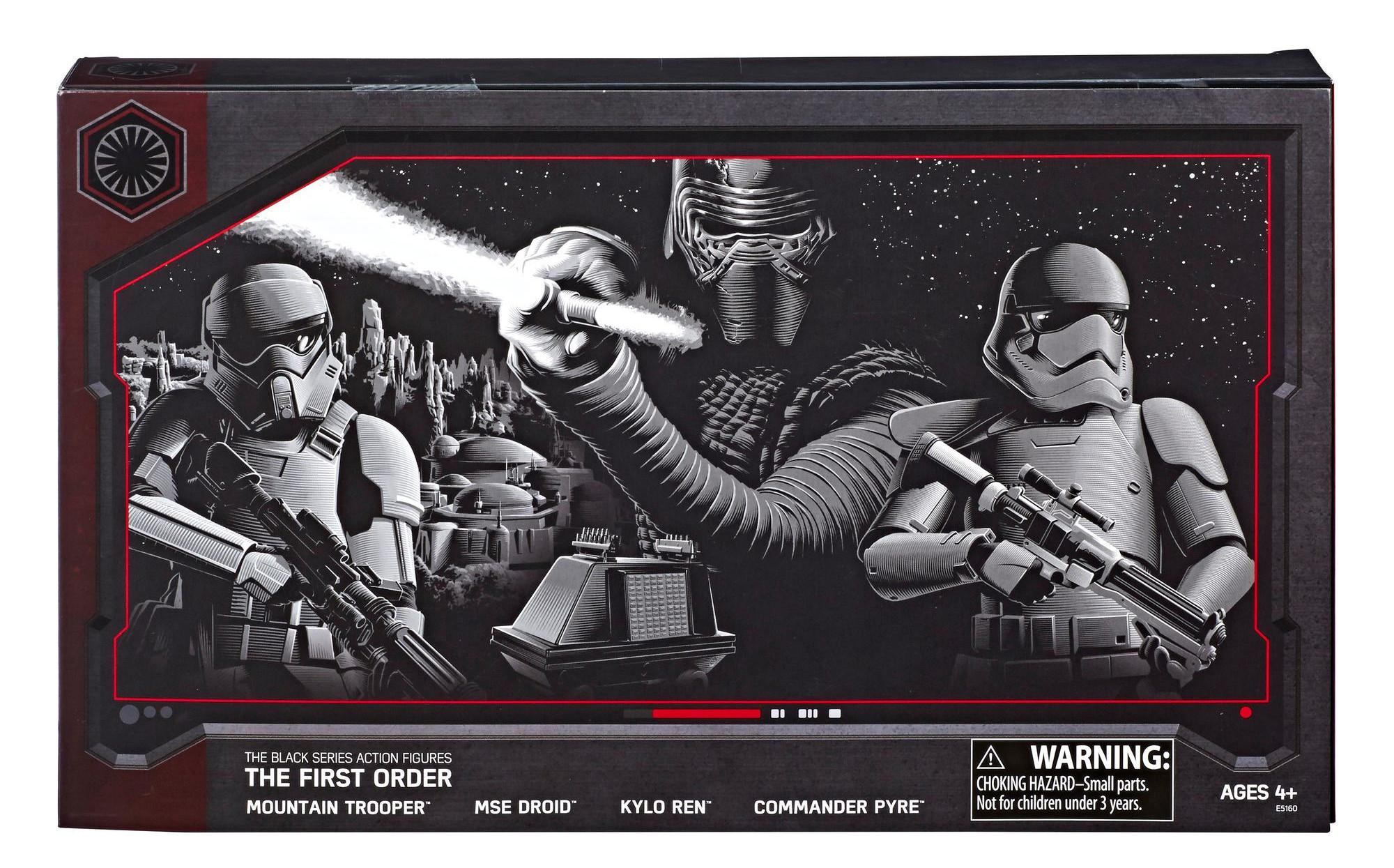 Hasbro Star Wars 2018 The Black Series 6 In action figure CAPTAIN environ 15.24 cm