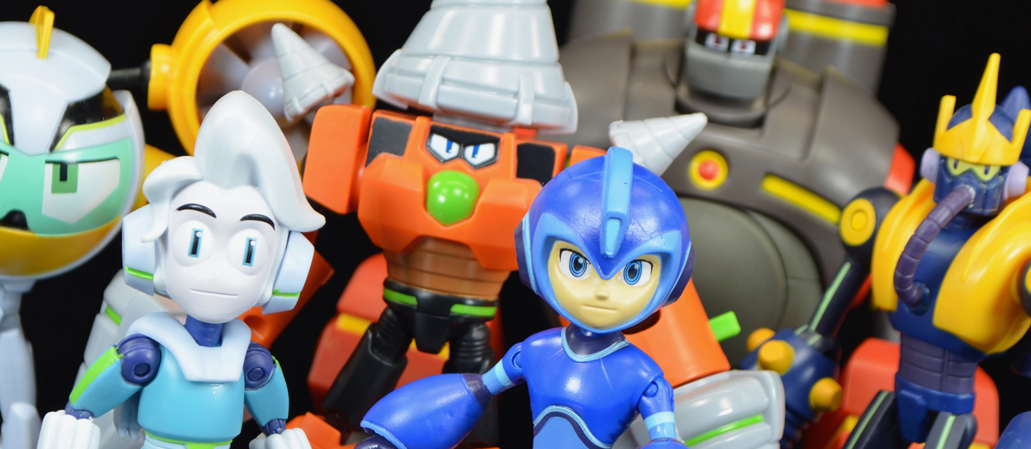 Jakks Pacific Mega Man Deluxe Drill Man Action Figure Fully Charged