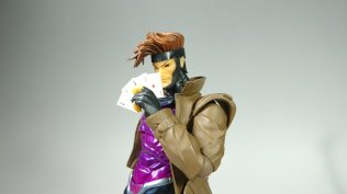 Kaiyodo Amazing Yamaguchi Revoltech Katsuhisa Twitter Marvel X-Men Gambit Package Teaser 06