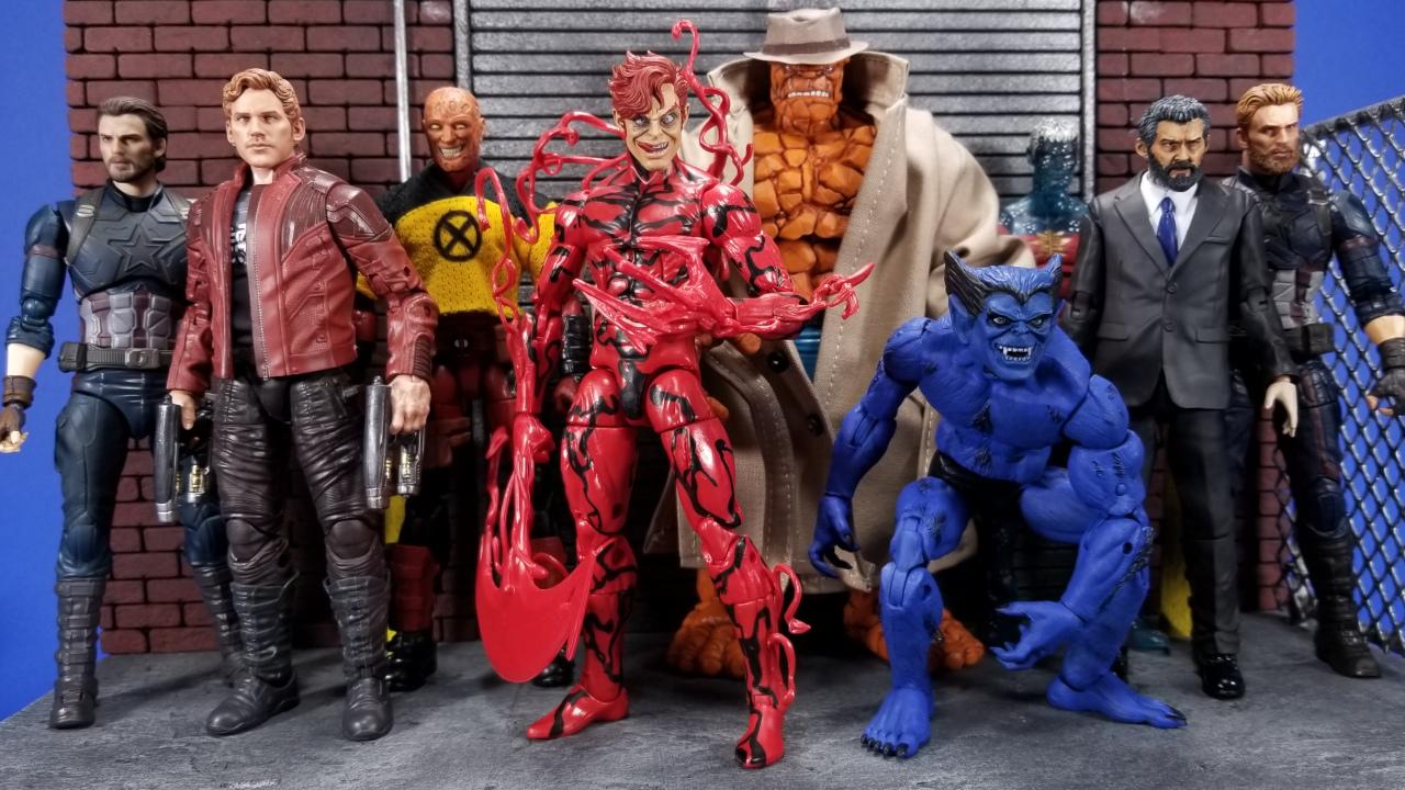 Marvel personnalisée légendes DC typologie Head voleuse