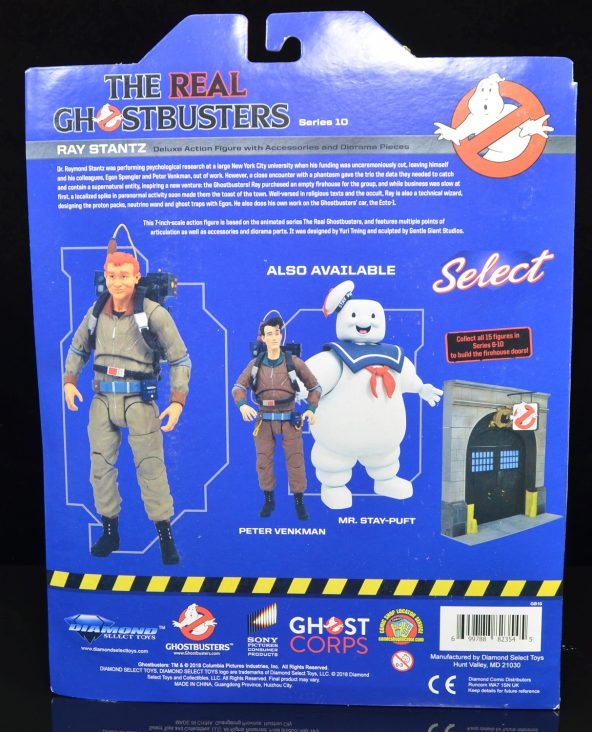 Diamond Select Toys The real ghostbusters Série 10 set complet de 3 figurines