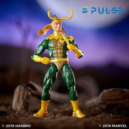 Hasbro Pulse Marvel Legends Avengers Endgame Wave 2 Series 6-inch Loki Figure
