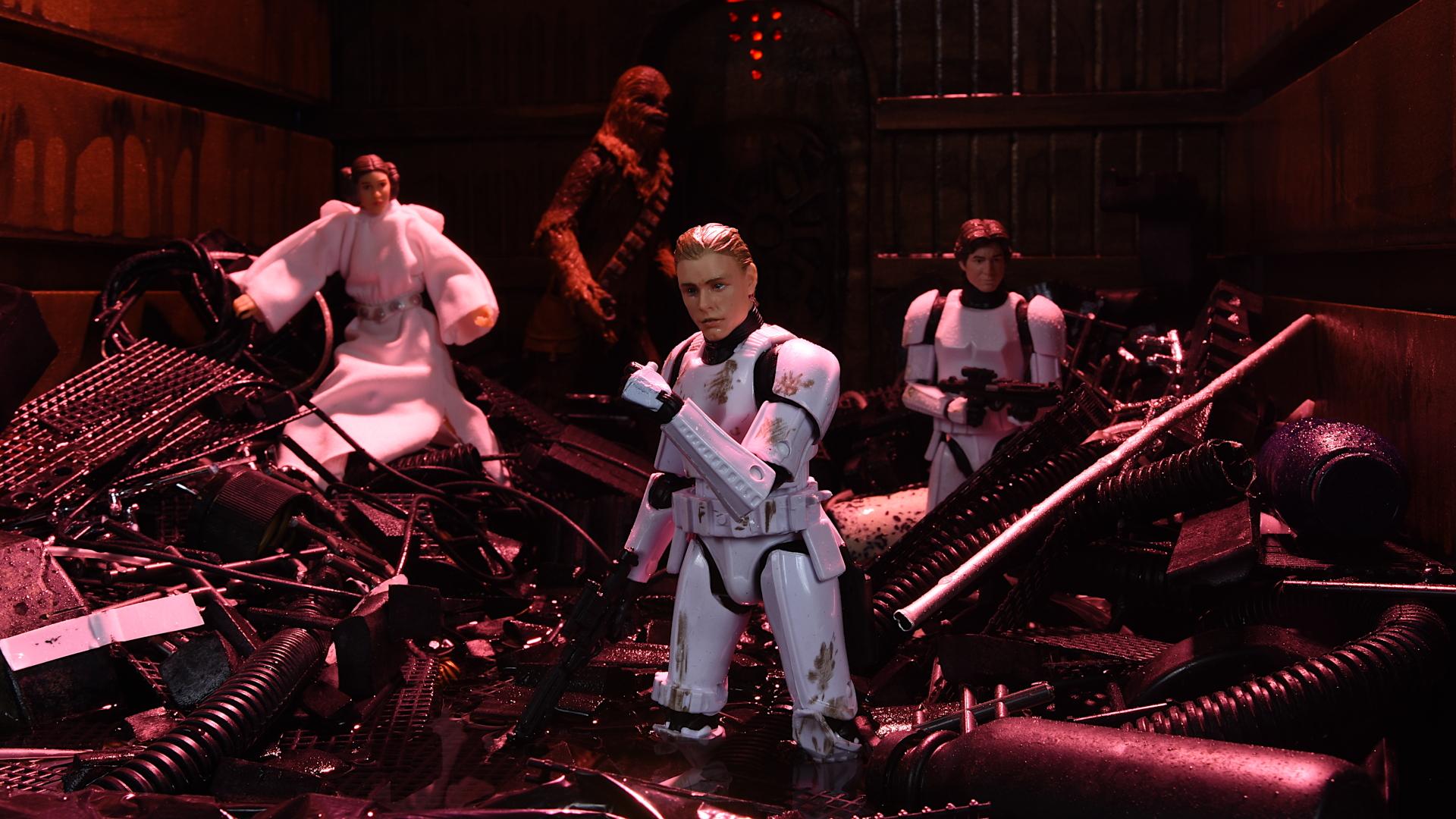 Star Wars Black Series 6 LUKE SKYWALKER DEATH STAR ESCAPE Trash Compactor Target