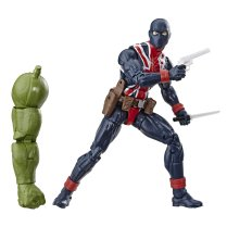 Marvel Legends Avengers Engame Wave 2 Series 6-inch Union Jack Figure 02