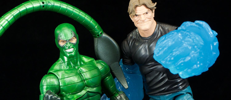 Scorpion Action Figure 2019 Hasbro New Molten Man BAF Marvel Legends