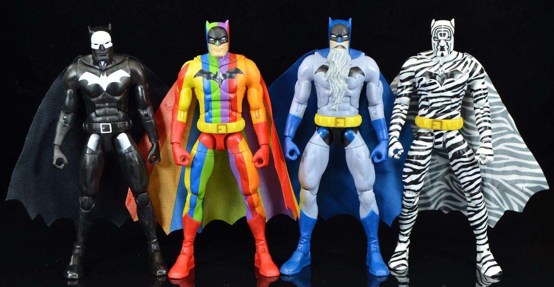 SDCC 2019 Mattel DC Comics The Strange Lives of Batman Action Figure Multipack