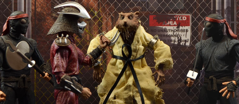Teenage Mutant Ninja Turtles TMNT Movie Master Splinter Action Figure Toys Doll