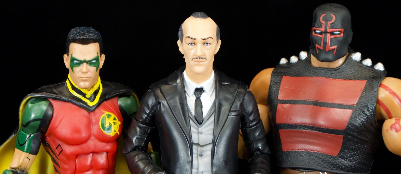 DC Comic Multiverse Batman 80th year Alfred Pennyworth Build Killer Croc