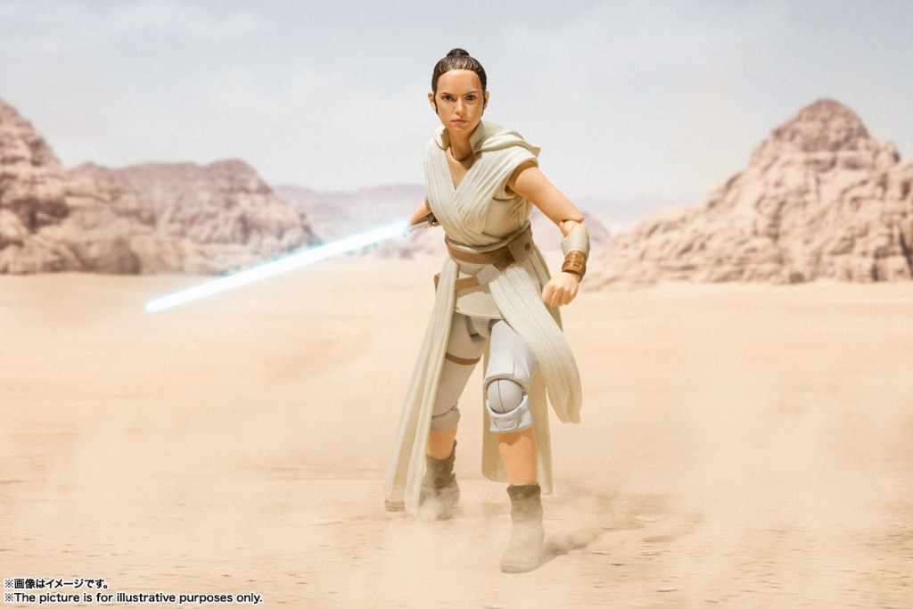 Bandai S H Figuarts Star Wars The Rise Of Skywalker Rey Kylo And Sith Trooper Promo Pics And Info