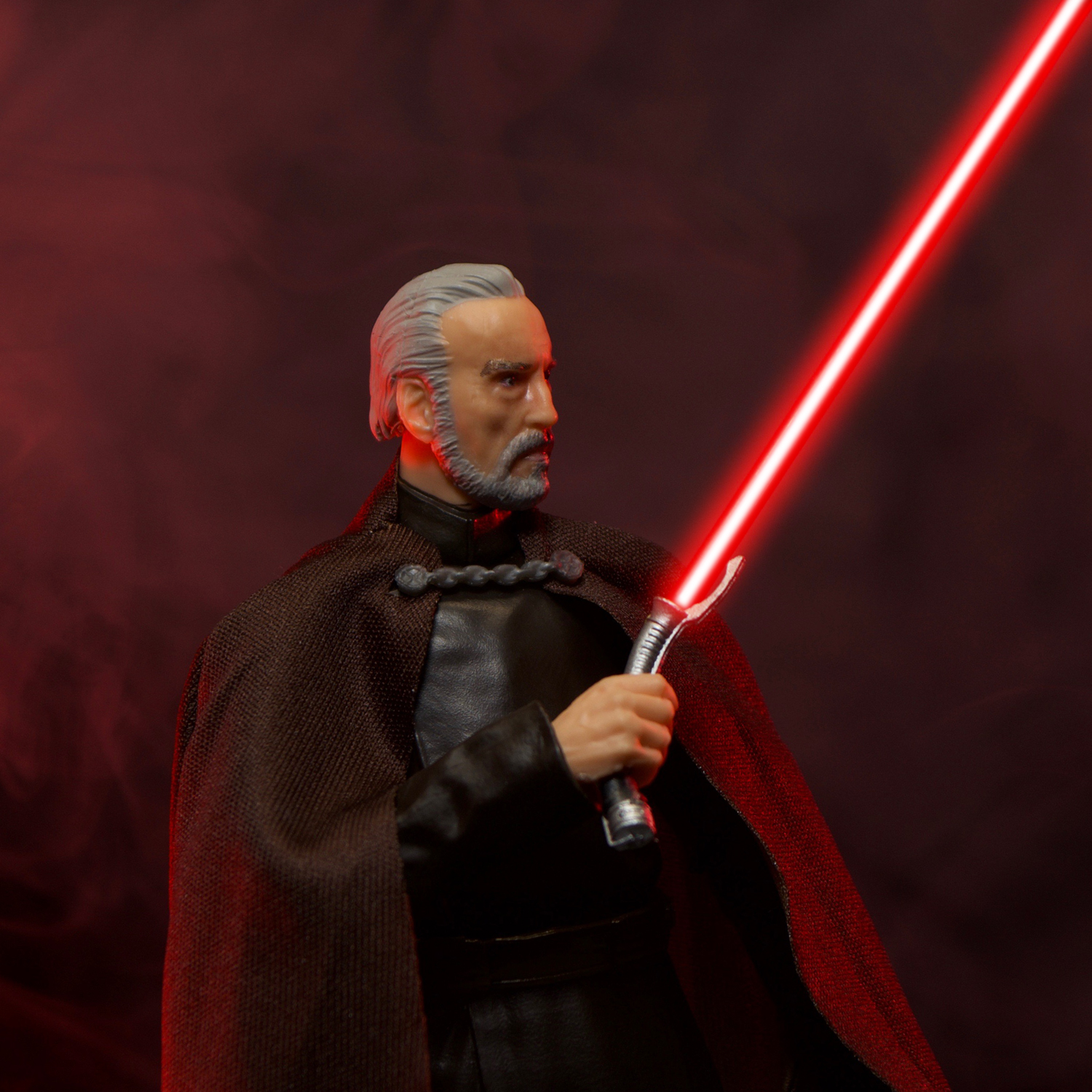 """STAR WARS The Black Series Count Dooku Attack of The Clones 6/"""" Figure"""