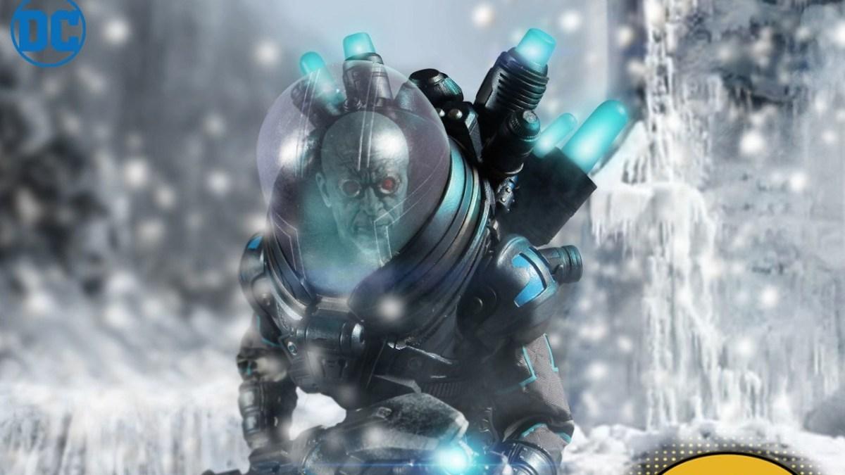 Batman Mr SEPT PRE-ORDER Freeze One:12 Collective Action Figure