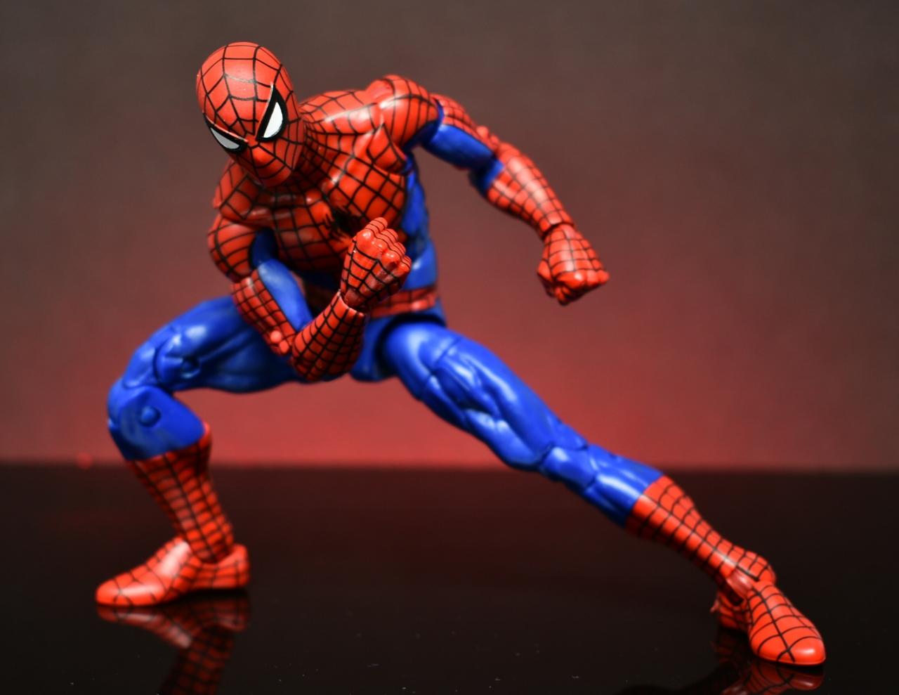 Marvel Legends Spider-Man Animated Series ELECTRO Loose 6 Figure Hasbro Retro