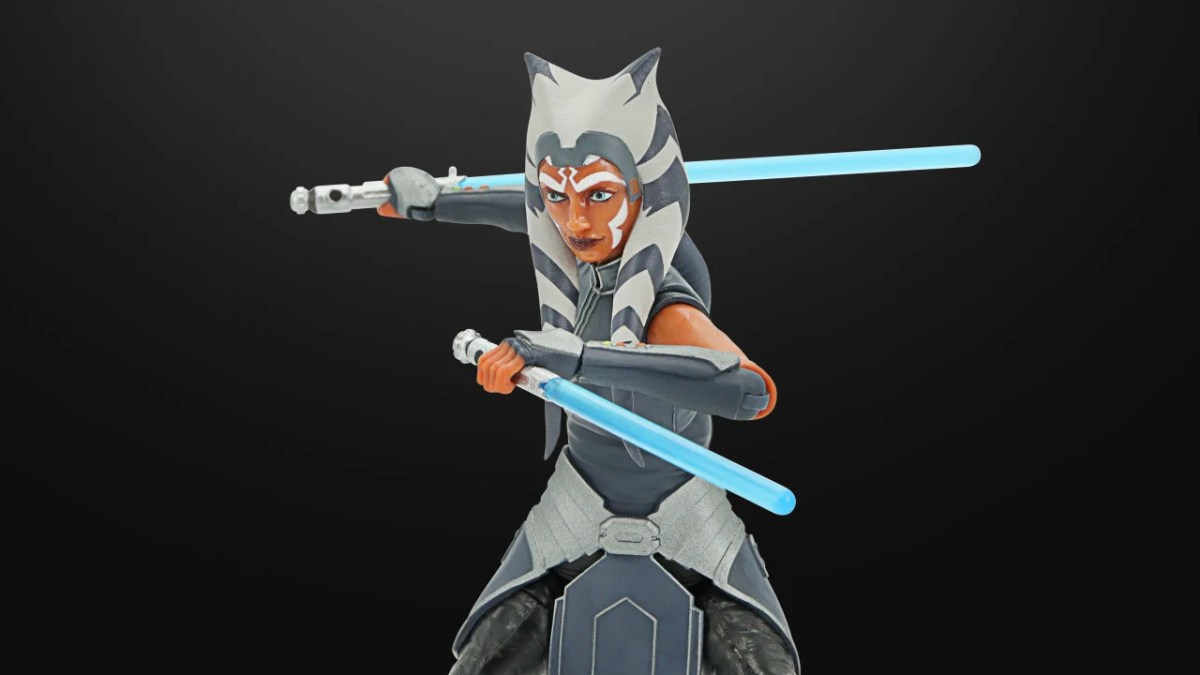 "Star Wars The Black Series Pre Order Ahsoka 6/"" Star Wars The Clone Wars Figure"