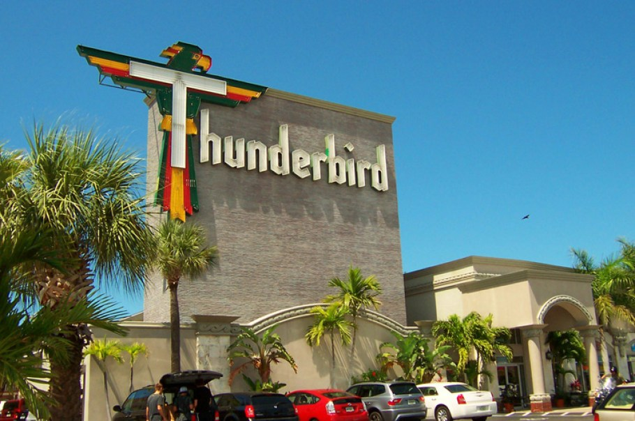 The Thunderbird Hotel on Treasure Island, Florida.