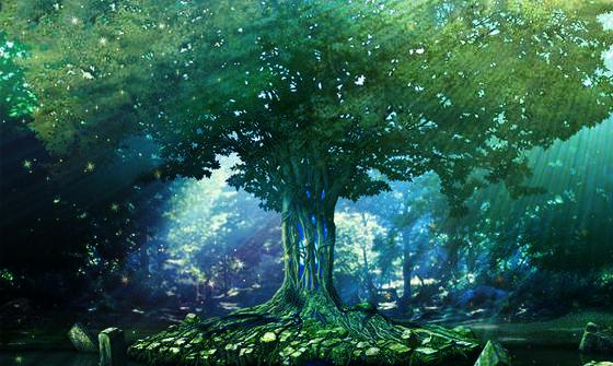 Tree photosynthesis