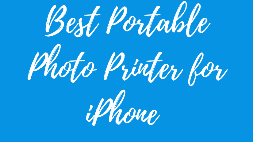 best portable photo printer for iphone