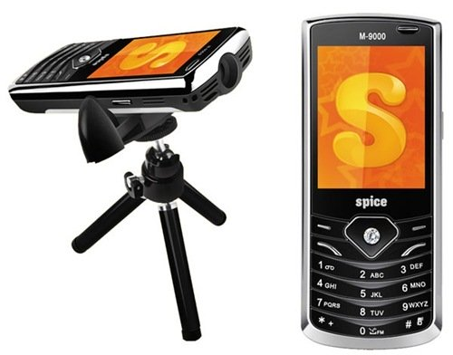 spicem9000 thumb Projector Mobile Phones in India [Comparison]