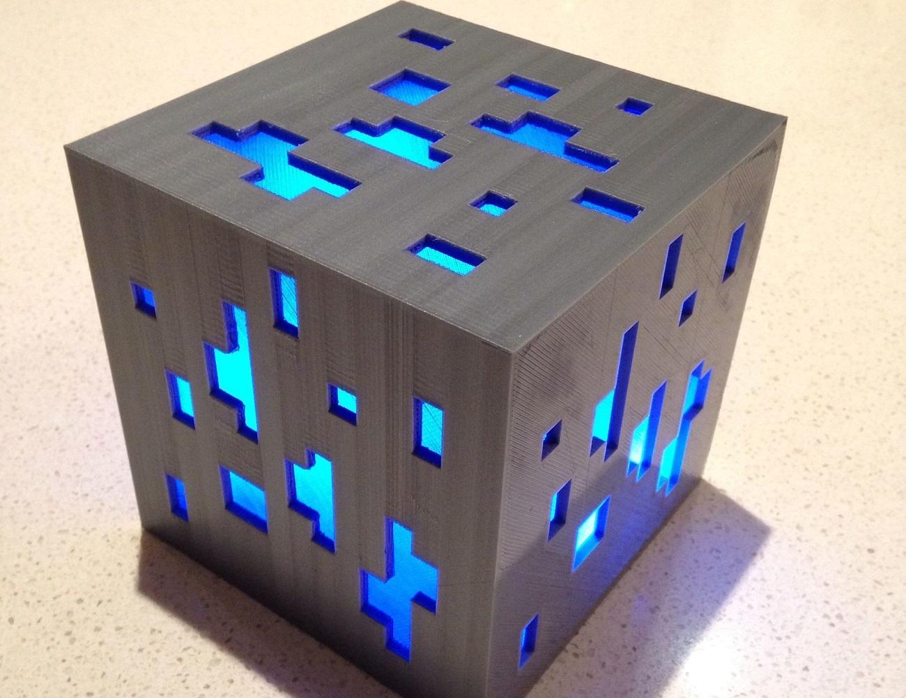 Minecraft Light Diamond Ore