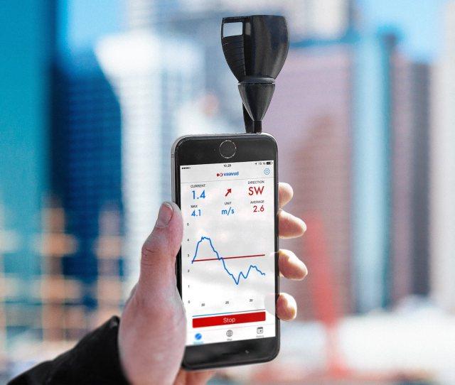Vaavud V Smartphone Wind Meter Gadget Flow
