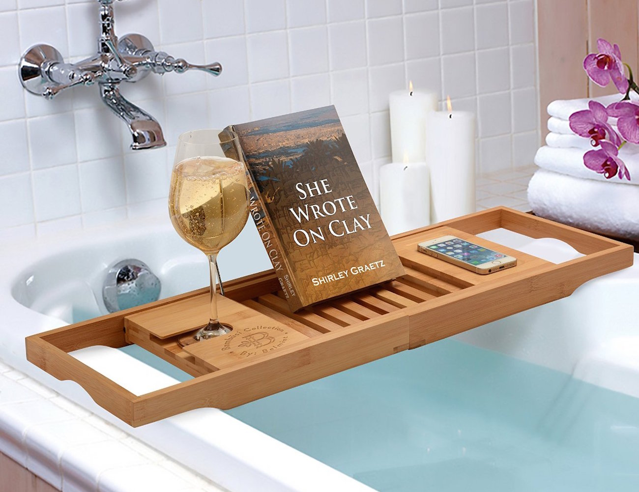Bamboo Bathtub Caddy From Bambsi By Belmint Review