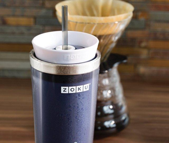 Zoku Iced Coffee Maker Travel Mug