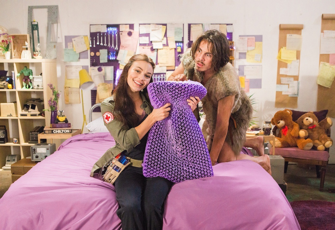 the purple pillow is the perfect place