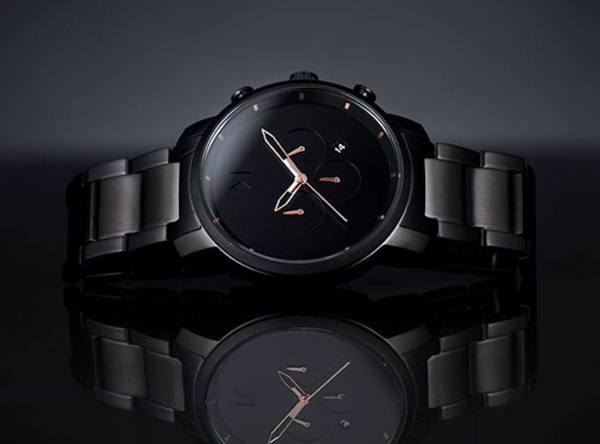 MVMT Watches Black Rose Edition 187 Gadget Flow
