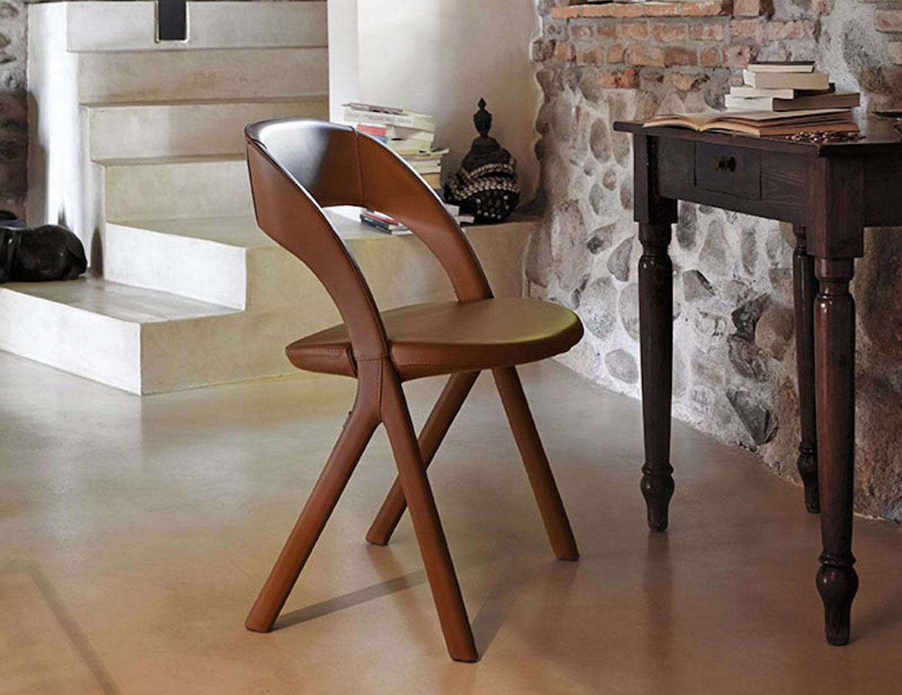 Alma Design Italian Gesto Chair