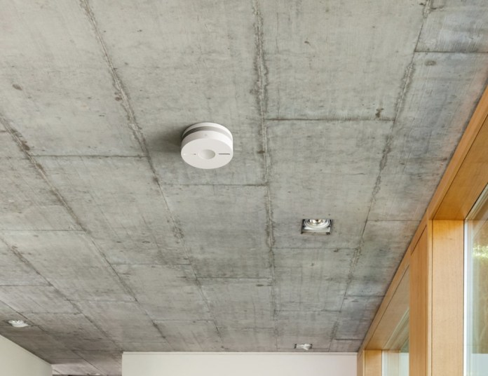 Eve Smoke installs easily in any home or office