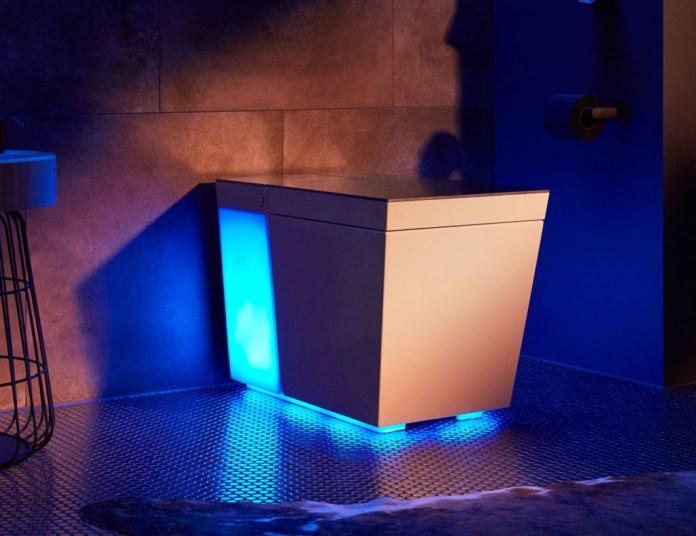 Numi 2.0 smart toilet has integrated lighting