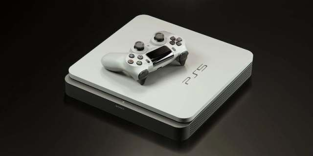 PS5 Gaming Console in White