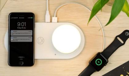 LXORY Wireless Charging Lamp