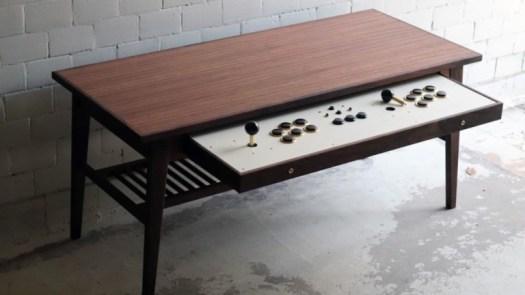 Love Hulten Coffee Table Retro Gamer Desk