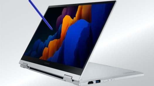 Samsung Galaxy Book Flex 5G 2-in-1 Laptop