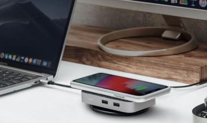 Moshi Symbus Q Wireless Charging USB-C Dock