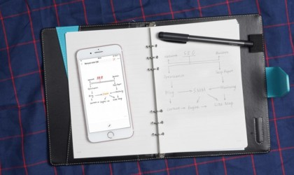 SyncPen 2nd Generation Smart Pen Writing