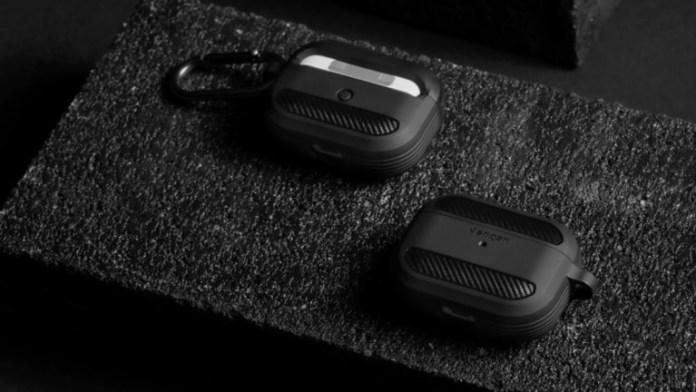 Spigen AirPods Pro Rugged Armor Earbud Storage Case