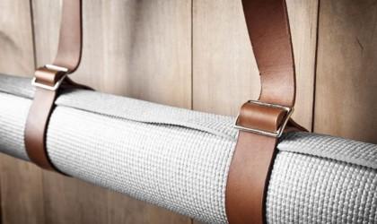 Mr. Lentz Leather Yoga Mat Strap